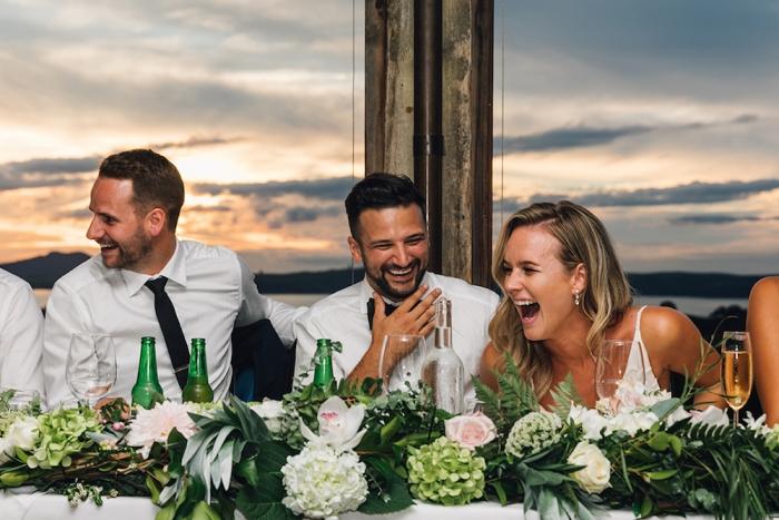 Bride & Groom Waiheke Wedding Auckland